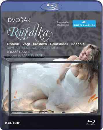 DVORAK:RUSALKA BY OPOLAIS,KRISTINE (Blu-Ray)